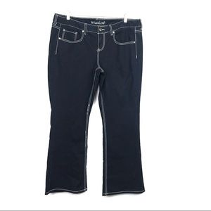 Maurices IVY Bootcut Dark Wash Stretch Jeans 20